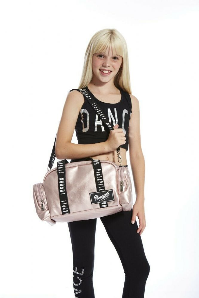 PINEAPPLE Dancewear GIRLS Mini Covent Garden Dancer Bag/Holdall Dance Rose Gold